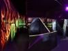 Lasertag Schwarzlicht
