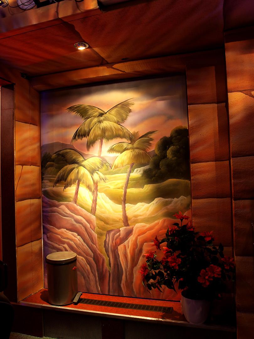 Illusionsmalerei Wandbilder Vorlagen, lernen