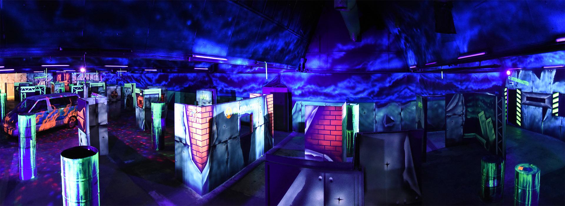 Lasertag Panorame