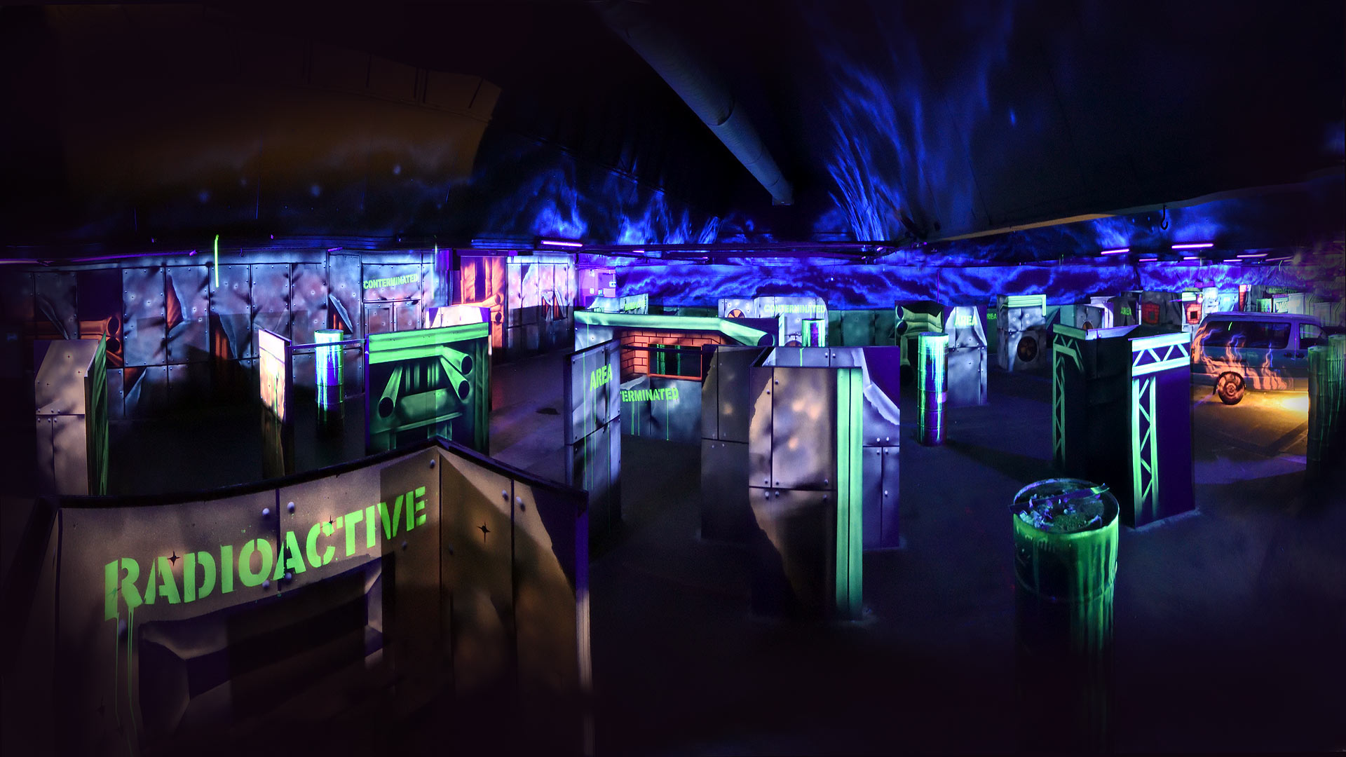 Lasertag Turnier