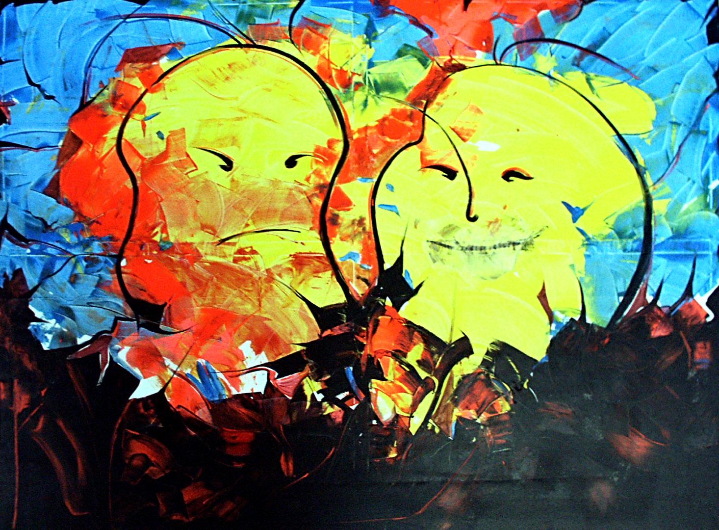 Schwarzlicht Wandbilder, Bilder, Deko, Kunst,